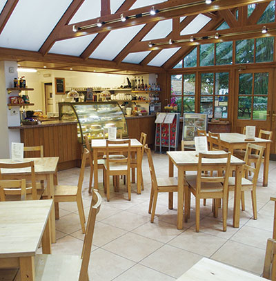 Inside the Conservatory Tearooms