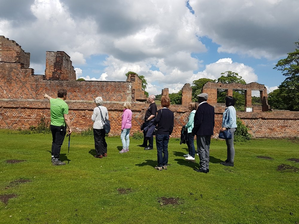 Tours of the Ruins of Bradgate House