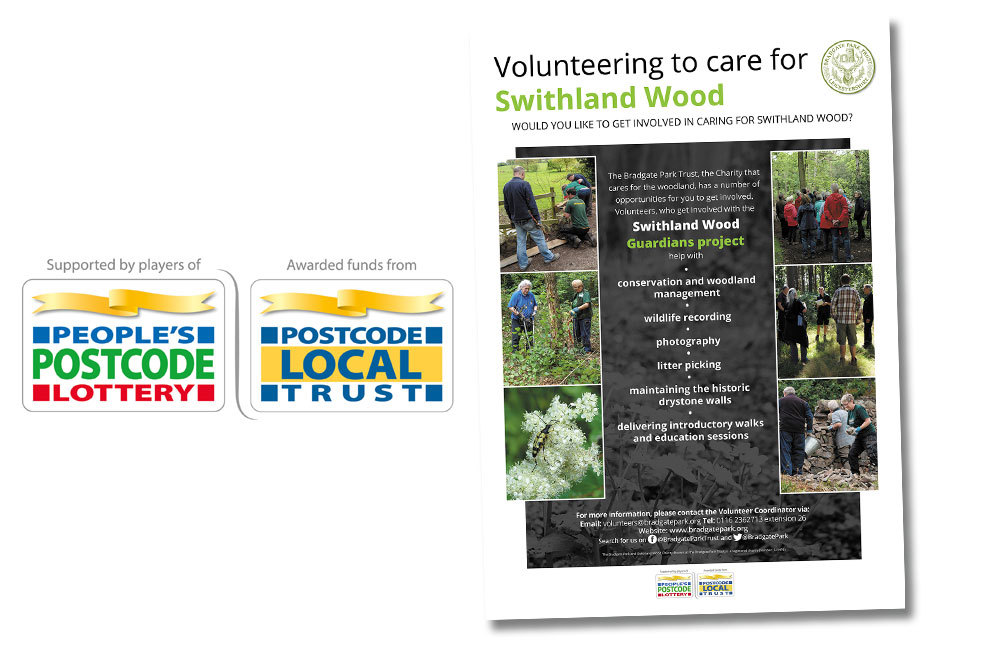 Volunteering to care for Swithland Wood