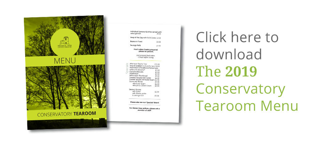Conservatory Tearoom Menus download button