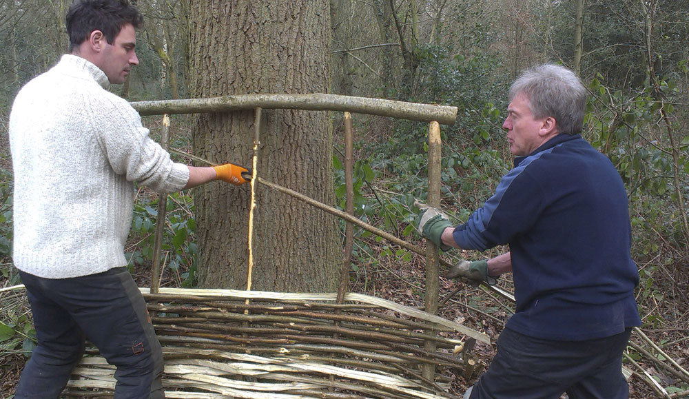 Craeting a Willow Hurdle