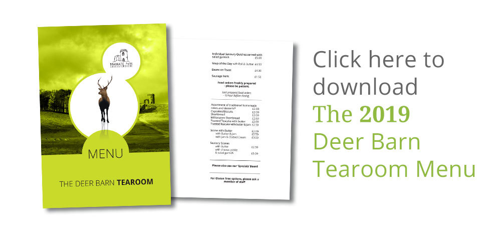 Deer Barn Tearoom Menu download button