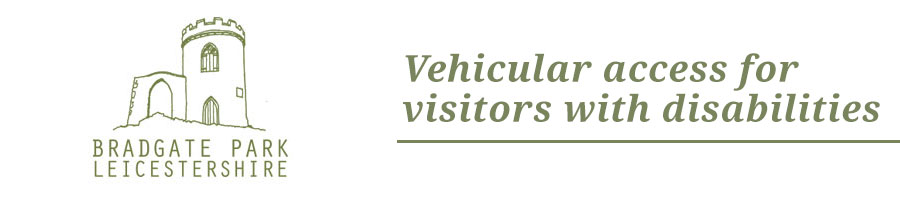 VEHICULAR ACCESS FOR VISITORS WITH DISABILITIES