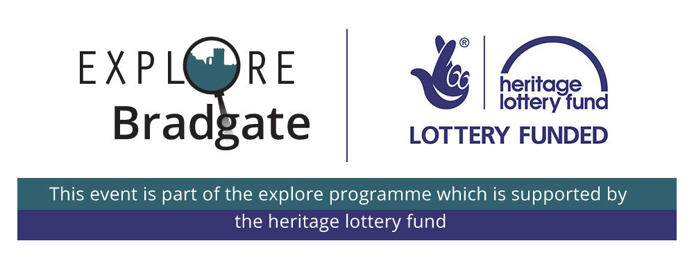 Explore Bradgate logo and The Heritage Lottery Fund