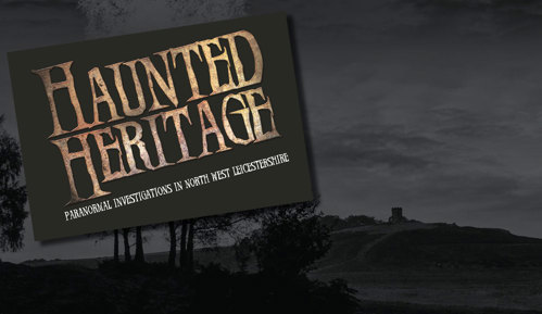 Haunted Heritage Logo and Bradgate Park