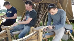 Hazel Walking Stick Workshop