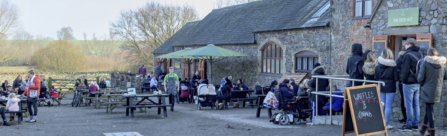 The Deer Barn Tearooms supply Refreshments at the Centre of the Park